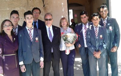 A visit to the French Ambassador