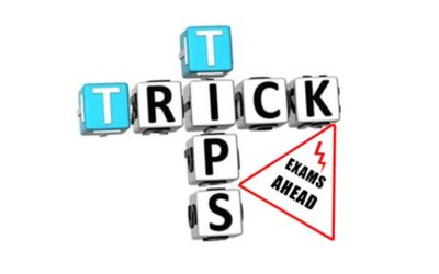 Tips and Tricks – Exams Ahead
