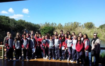 Year 9 Biology students visit the Bird Park.